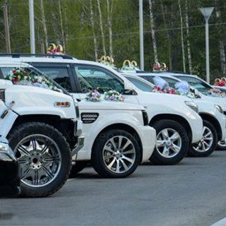 Как взять авто напрокат для свадьбы